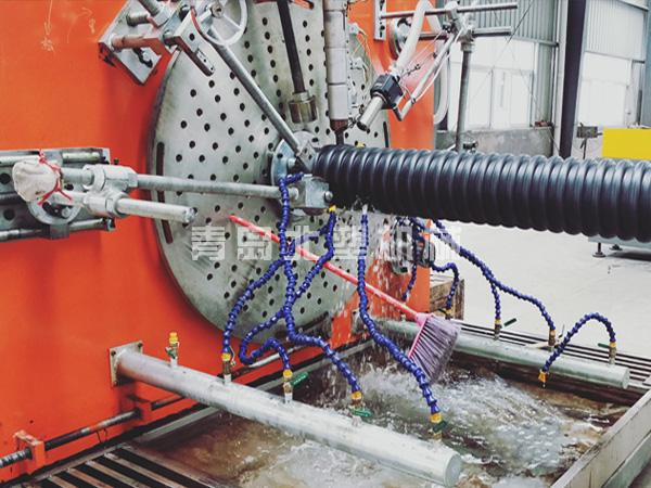 聚乙烯螺旋波纹管生产线